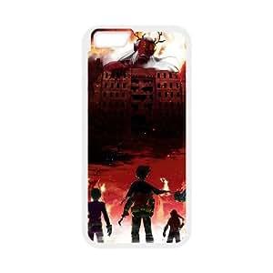 Teen Titans 002 funda iPhone 6 Plus 5.5 Inch Cubierta blanca del teléfono celular de la cubierta del caso funda EVAXLKNBC18381