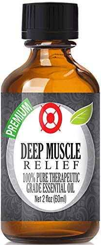 Deep Muscle Relief - 100% Pure, Best Therapeutic Grade Essential Oil - 60ml - Camphor, Eucalyptus, Lavender, Peppermint, Rosemary and ()