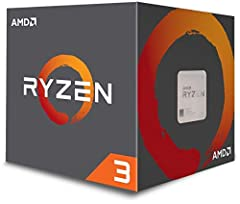 TRUE, UNLOCKED QUAD CORE PERFORMANCE FOR GAMING AND COMPUTING. Featuring 4 processor cores for performance gaming and processing, With a brand new, true quad core architecture, AMD Ryzen 3 processors provide the responsiveness and performance...