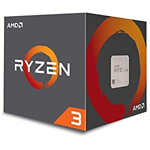 AMD Ryzen 3 1200 Desktop Processor with Wraith Stealth Cooler (YD1200BBAEBOX) 41WzqcY5tgL. SS300