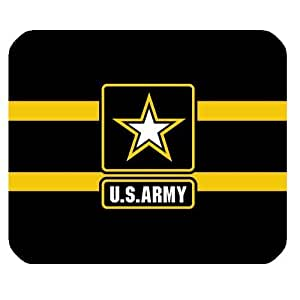 US Army Personalized Custom Gaming Mousepad Rectangle Mouse Mat / Pad Office Accessory And Gift Design-LL472 by mcsharks