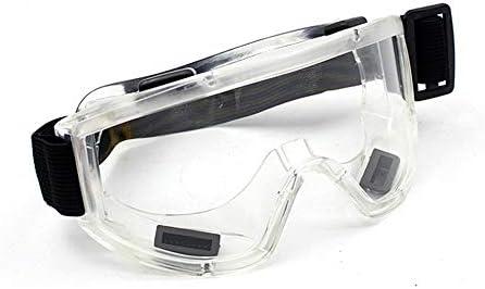 ベント安全メガネ医療と医療/研究室/化学スプラッシュゴーグル、については防塵通気性研究所防塵メガネ、 (Color : B 5pcs)