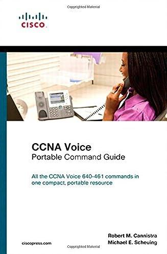 ccna voice portable command guide robert m cannistra michael e rh amazon com Cisco Certification Cisco Certifications Chart