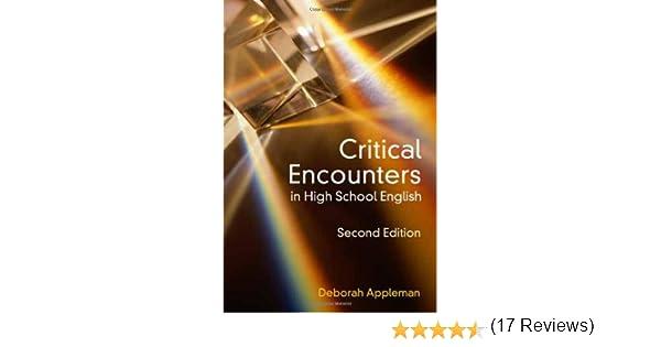 Amazon.com: Critical Encounters in High School English: Teaching ...