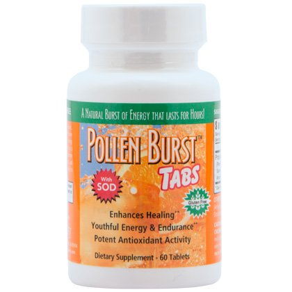 Pollen Burst Tabs formerly ProJoba Polbax Energy & Endurance- 60 tabs - 6 Pack