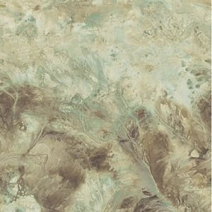 (PL185610 SAMPLE 8x10 INCHES Birdseye Marble Burnished Teal Paper Illusions Wallpaper Torn Faux Finish Wallpaper Illusion PaperIllusion SAMPLE)
