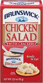 BRUNSWICK Chicken Salad (with crackers) 3.25oz 12pk