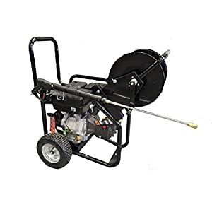 Commercial Drain Jetting Pressure Power Washer 3600 PSI 15 HP 4.7GPM