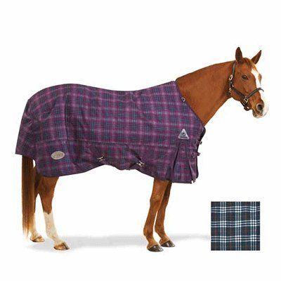 (Centaur 1200D Plaid Turnout Sheet 81 Orchid)