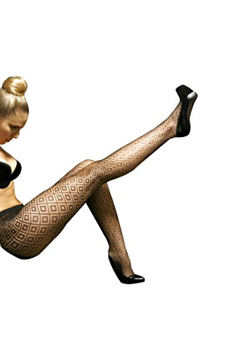 Sexy Dark Diamond Outline Fishnet Waist High (Outline Fishnet)