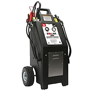 TCB-HT1224 - Heavy Truck 12/24 Volt Commercial Charger/Starter with AGM Batteries
