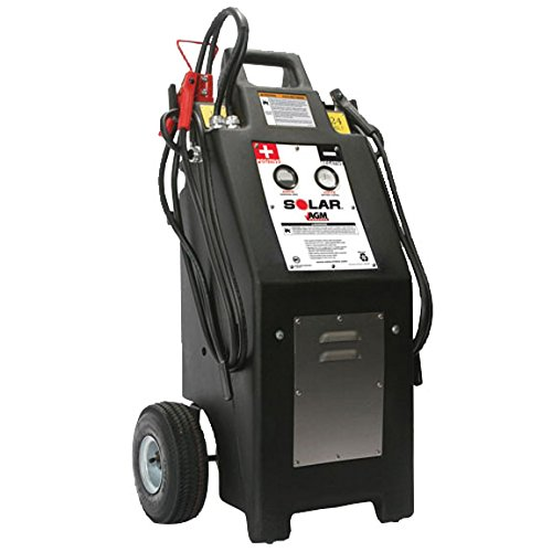 TCB-HT1224 - Heavy Truck 12/24 Volt Commercial Charger/Starter with AGM Batteries (24 Battery Jumper Volt)