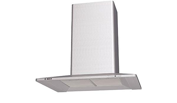 Bosch DKE785C - Campana (Recirculación, 650 m³/h, 54 Db, Montado en pared, Halógeno, 500 Lux) Acero inoxidable: Amazon.es: Hogar