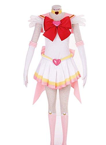 Love Anime Girl Woman Skirt Dress Uniform Cosplay Costume 7 Pcs Set