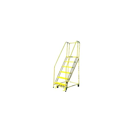 Brilliant Cotterman 1005R1820 5 Step Ladder With Handrails Amazon Com Pdpeps Interior Chair Design Pdpepsorg