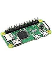 Waveshare Raspberry Pi Zero WH Built-in WiFi and Bluetooth Connectivity, 40PIN Pre-Soldered GPIO Headers,The Low-Cost Pared-Down Pi