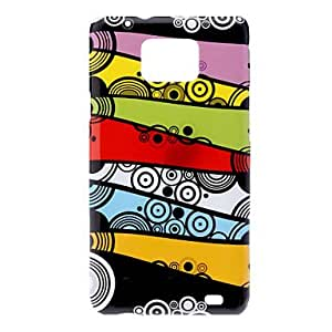 hello Stripe Pattern IMD Hard Case for Samsung Galaxy S2 I9100