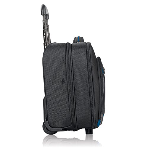 Solo Active 16 Inch Rolling Overnighter Case with Padded Laptop Compartment, Black by SOLO (Image #2)
