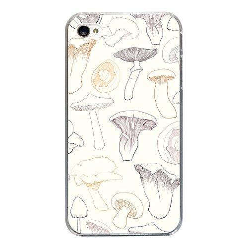 "Disagu SF-sdi-3814_1190#zub_cc2455 Design Schutzhülle für Apple iPhone 4 - Motiv ""Pilze 02"""