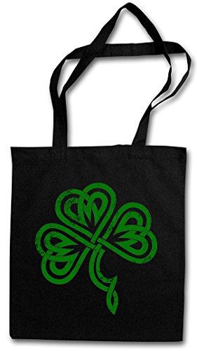 SHAMROCK IRISH KNOT III HIPSTER BAG �?hoja de trébol Irlanda irlandés Cloverleaf Irland Ireland Kleeblatt Kelten Knoten Runes Rune