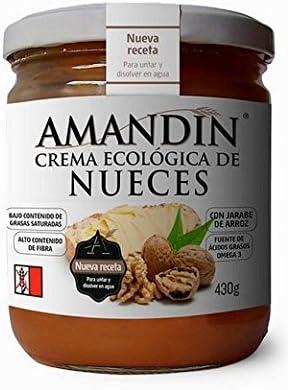 Crema de nueces Ecológica AMANDIN (430 gr): Amazon.es: Alimentación y bebidas