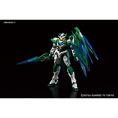 Gundam Build Fighters Try 00 Shia Qan[T] (Quanta) High Grade 1:144 Scale Model Kit: Toys & Games