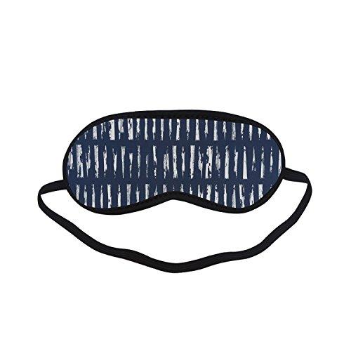 Sleeping Mask Vintage Japanese Kasuri Ikat PTEM484 Blindfold Eye Travel Relax - Kasuri Cover