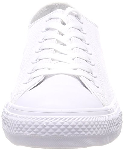 Converse Adulte Blanc Mixte White Basses 100 CT Mono Ox rAnqxwWSr4