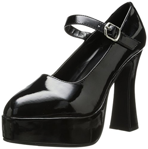 Ellie Shoes Women's 557 Eden Maryjane Platform Pump, Black, 8 M US