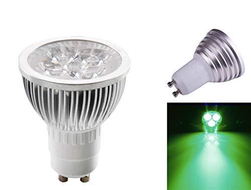 3 W LED verde GU10 bombilla luz foco Downlight 220 V - Pack de 10 unidades: Amazon.es: Iluminación
