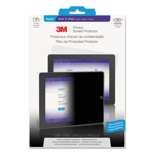 MMMPF827314 - Privacy Screen Protection Film for iPad 2/3rd Gen/4th Gen
