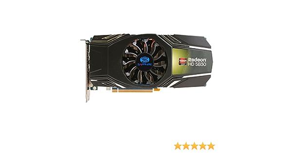 Sapphire 11169-08-20G AMD Radeon HD5830 1GB - Tarjeta gráfica (AMD, Radeon HD5830, 2560 x 1600 Pixeles, 1 GB, GDDR5-SDRAM, 256 bit): Amazon.es: Informática