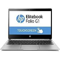"HP EliteBook Folio G1 (W0R79UTR#ABA) Core m5, 256SSD 12.5"" FHD Touch Win 10 Pro (Certified Refurbished)"