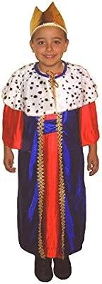 EL CARNAVAL Disfraz Rey Baltasar Talla M (6-8años) - Reyes ...
