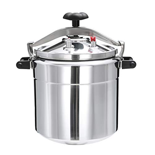Pressure Cookers Commercial Aluminum Alloy Large Explosion-proof Capacity Induction Cooker Gas Pressure Cooker 15L/18L/22L/33L/36L/40L Explosion Proof (Size : 33l)