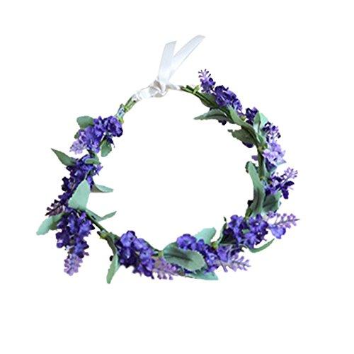 PanDaDa Lavender Headband Hairband Accessories