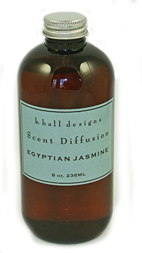 (K. Hall Designs Egyptian Jasmine Diffuser Oil Refill 8 oz.)