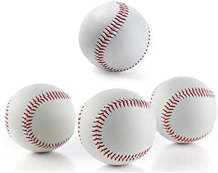 SSLLPPAA Balón de Entrenamiento de béisbol rígido Juego de Pelota ...