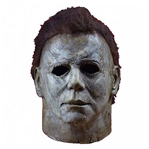Michael Myers Costumes Scary - Halloween Hot Movie Latex Horror Michael