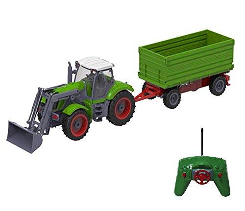 Riesenr XXL RC ferngesteuerter Traktor mit Anhänger Trecker