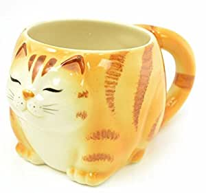 Yellow Tabby Kitty Mug