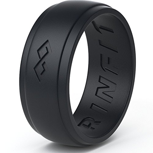 Mens Silicone Ring Wedding Band