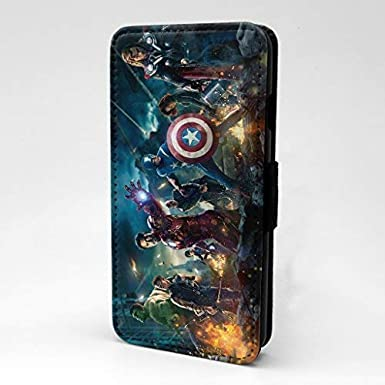 sneakers for cheap db516 a7f16 Marvel Superhero Printed Phone Flip Case Cover For Samsung Galaxy S7 ...