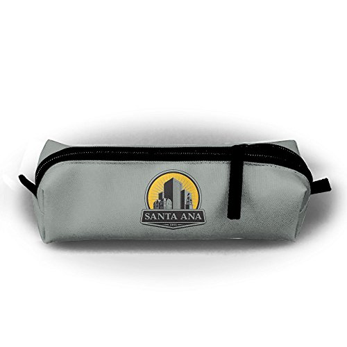 City Of Santa Ana Logo Neweducationfirstlogo Canvas Pencil Bag Holder Pen Case Stationery Makeup Cosmetic Pouch Bag With - Shopping Ana Santa