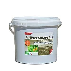 Agro Sens–Fertilizante orgánico cítricos naranjos, limoneros y olivos–4kg AG-AGRU4