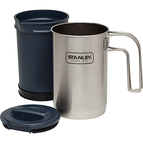 Stanley Stan Adv 32oz Coff Press ss Cook + Brew, Stainless Steel