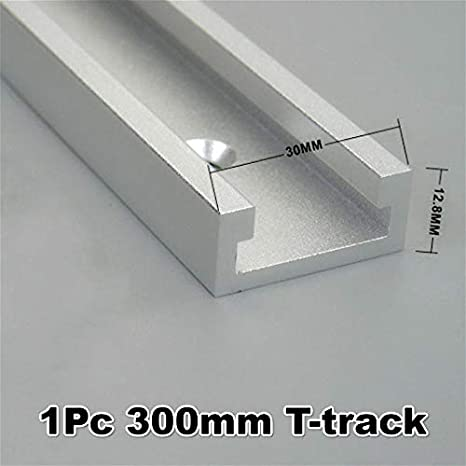 jiulonerst 30 Miter Track Stop for T-Slot T-tracks Aluminum Alloy Woodworking DIY Tool