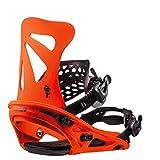 Flux Dsl 2018/19 Snowboard Bindings Size Neon Orange, Medium