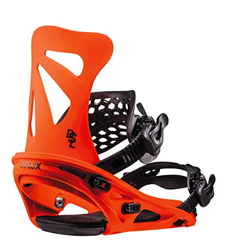 Flux Dsl 2018/19 Snowboard Bindings Size Neon Orange, Large