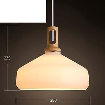 Retro Wooden Chandelier,Modern Minimalist For Restaurant lamp The dining room Tea shop Hotpot Bar-I 27x33cm(11x13inch)